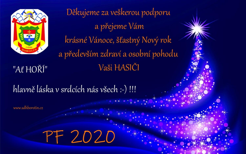 PF 2020 - SDH Borotín